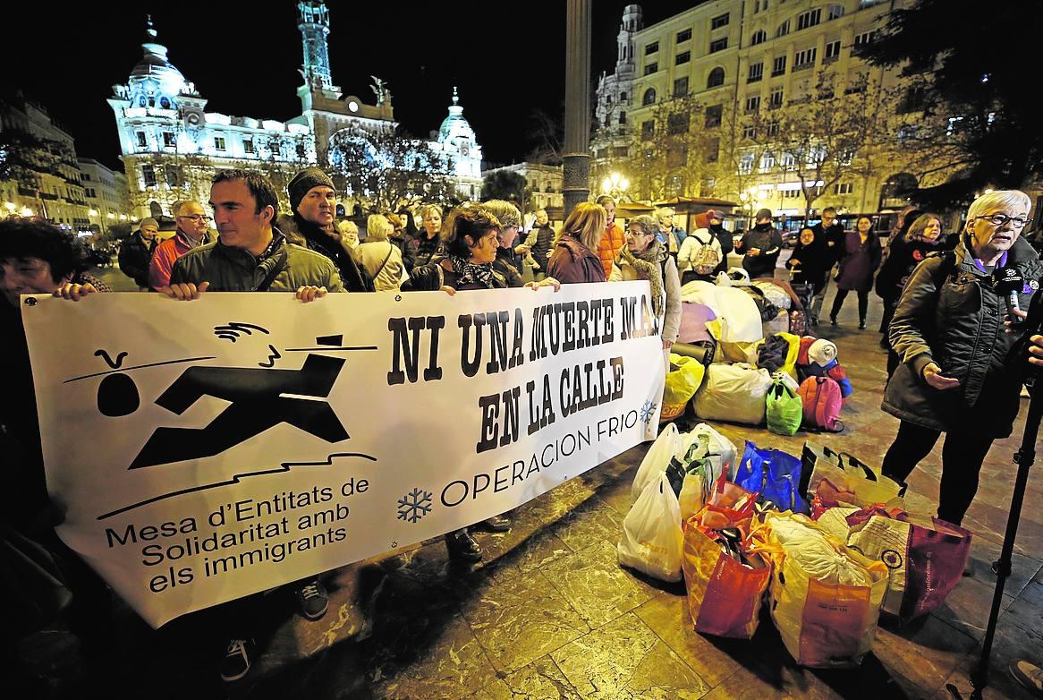 Las protestas arrecian en las calles de Valencia