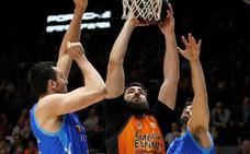 Victoria muy sufrida del Valencia Basket