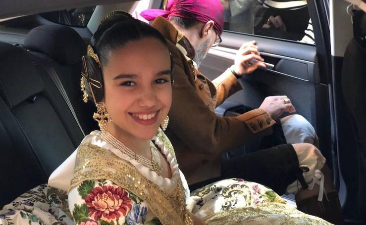 Todas las imágenes de la exaltación de Sara Larrazábal, fallera mayor infantil de Valencia 2019