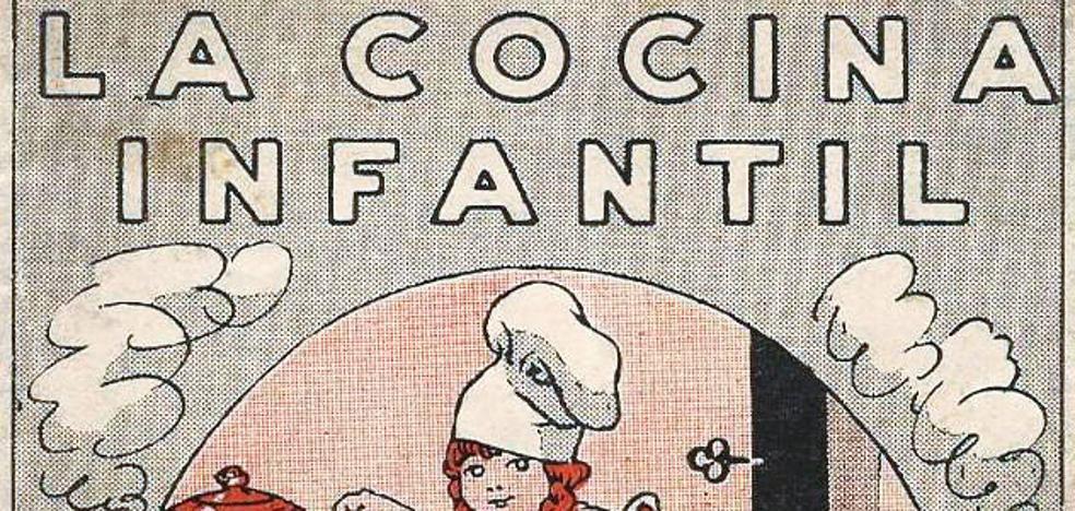 Antiguos libros de cocina infantil