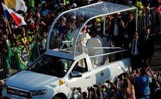 El Papa pide una «solución justa y pacífica» para Venezuela