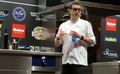 Camarena sorprende con su cocina de la humedad en Madrid Fusión