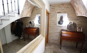 La casa de María José Marco, una andana con arte