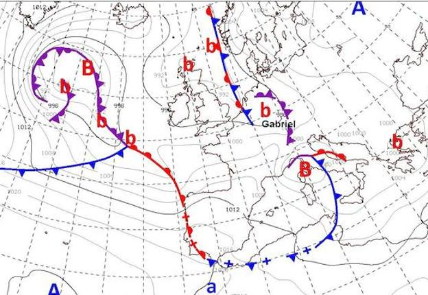 El Tiempo En Valencia Para El 30 De Enero Ciclogenesis Explosiva
