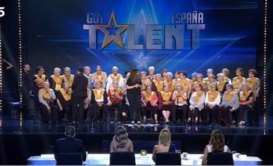 El coro valenciano de Les Veus de la Memòria emociona en 'Got Talent'