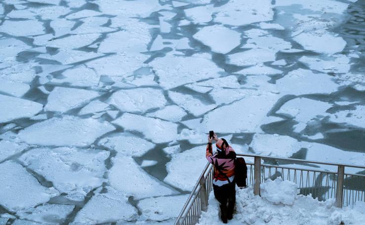 El Vortex Polar deja temperaturas en Chicago que pueden congelar a una persona en diez minutos