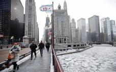 EEUU se congela y deja imágenes de película