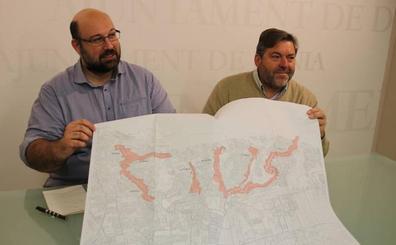 La puesta en marcha de los colectores del Montgó y las obras en Les Marines permitirán conectar 1.500 casas de Dénia al alcantarillado