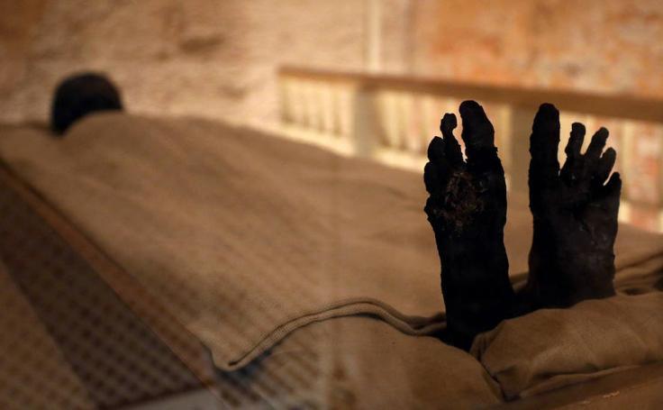 Las nuevas imágenes de la tumba de Tutankamón