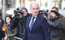 Francisco Camps niega ante el juez cualquier implicación con la contratación de Gürtel en Valencia