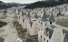 El pueblo abandonado de los 732 castillos de Disney