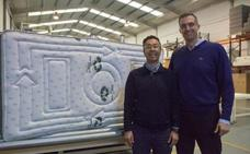 Una empresa valenciana fabrica el primer colchón 100% reciclado