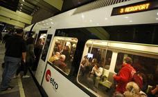 Los usuarios del metro de Valencia sufrirán 17 días de paros