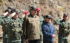 Un general venezolano reconoce a Guaidó como presidente del país