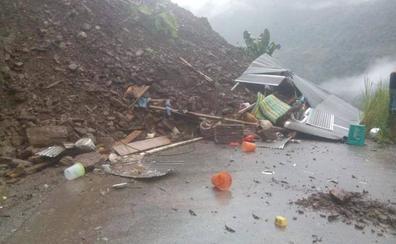 Al menos 6 muertos en Bolivia por un deslizamiento de tierra provocado por la lluvia