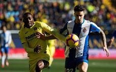 El Villarreal deja escapar el triunfo ante un combativo Espanyol