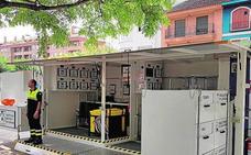 El ecoparque móvil visita el municipio para recoger residuos