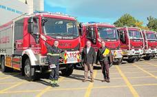 El Consorcio de Bomberos refuerza su operativo con cinco camiones