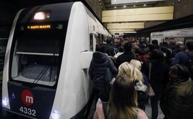 Desconvocados los paros de cuatro sindicatos en el metro