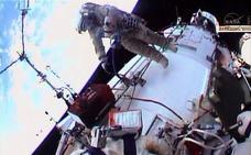 Se vuelve a estroperar el retrete de la Estación Espacial Internacional