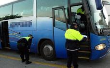 Inmovilizado un autobús escolar al dar positivo en drogas el conductor en Alicante