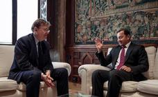El Valencia CF y la Generalitat se reúnen para hablar del nuevo Mestalla y Porxinos