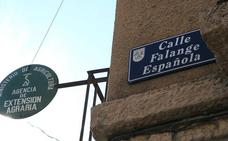 De la plaza Franco a la calle Primo de Rivera, Justicia pide la retirada de todos los vestigios franquistas