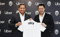 Uber, nuevo partner del Valencia CF