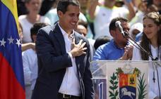 Guaidó pide ayuda al Papa para «conseguir el fin de la usurpación» de Maduro