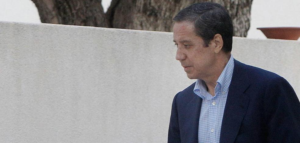 La jueza deja libre a Zaplana tras recuperar seis millones en Suiza