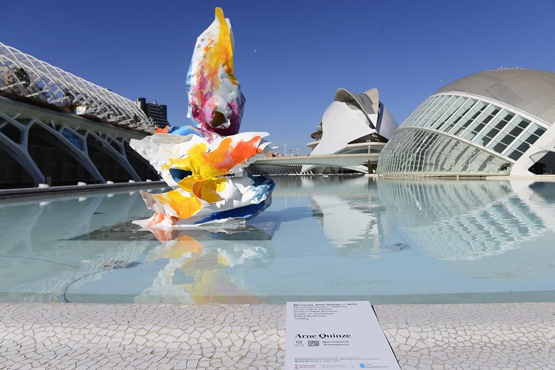 Las esculturas que han ganado las calles de Valencia en los últimos años