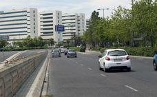 Un joven resulta herido en un accidente de moto en la Avenida Fernando Abril Martorell de Valencia
