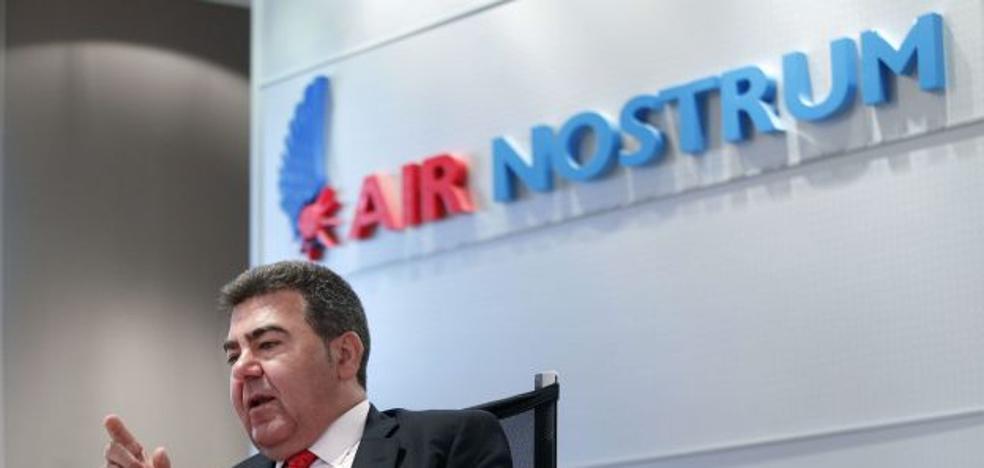 Carlos Bertomeu y los dueños del IVI asumen el control total de Air Nostrum