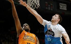 Un baño de realidad para el Valencia Basket antes de la Copa del Rey