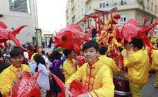 Valencia celebra su Año Nuevo Chino