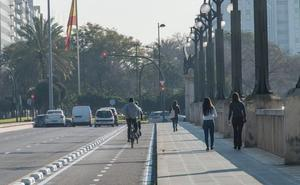 Los nuevos carriles bici de Valencia