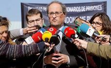 Torra visita a los presos soberanistas en Alcalá Meco y Soto del Real