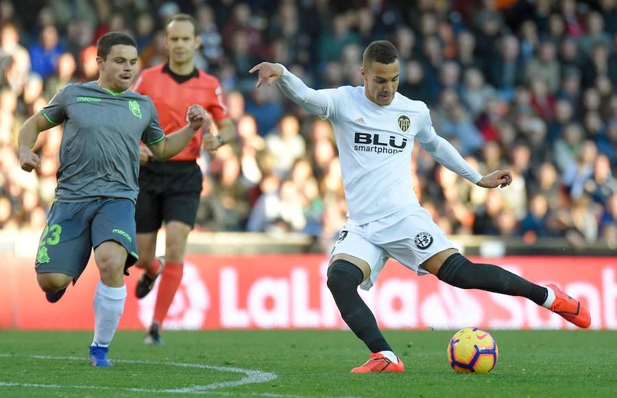 Fotos del Valencia-Real Sociedad