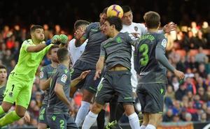 Así ha sido el Valencia 0-0 Real Sociedad