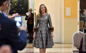 Rocío Gil recibe el homenaje de La Seu-La Xerea-El Mercat