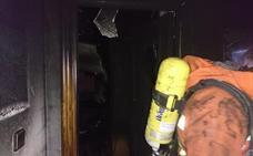 Fallece una mujer de 79 años en el incendio de una vivienda familiar en Albal