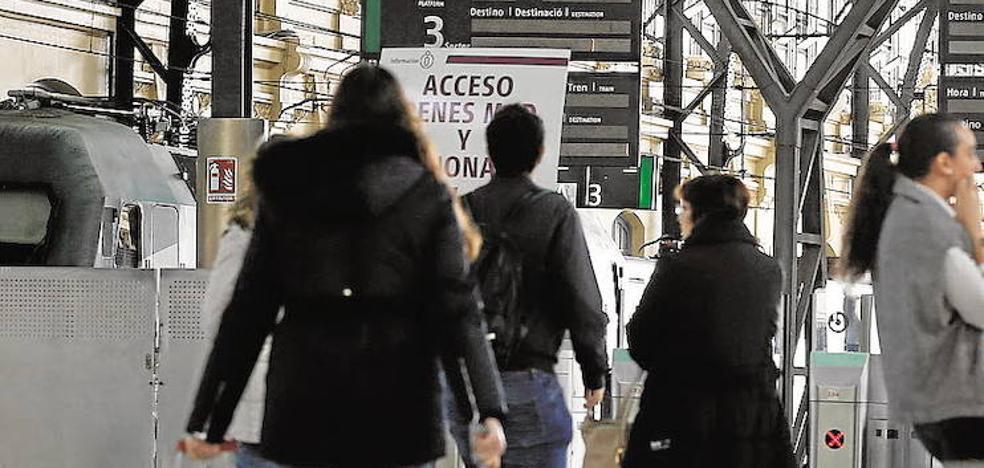 Llegan las estaciones de tren que serán como aeropuertos