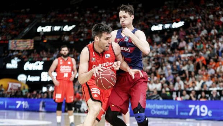 Horario del Valencia Basket vs Barça en Copa y cómo verlo por televisión