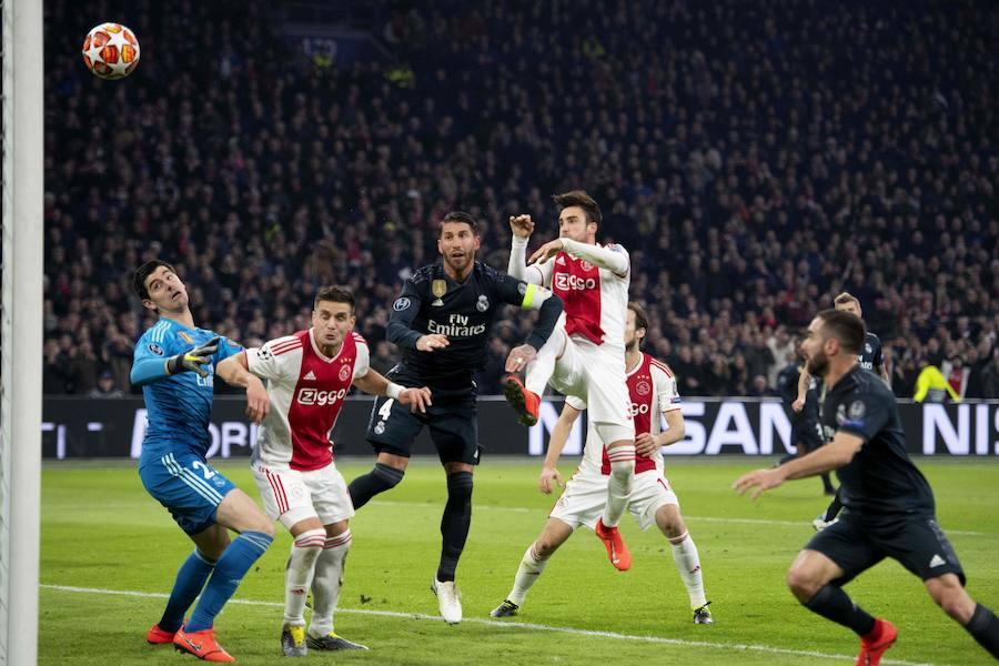 El primer gol que anula el VAR en la Champions: polémico y a favor del Madrid