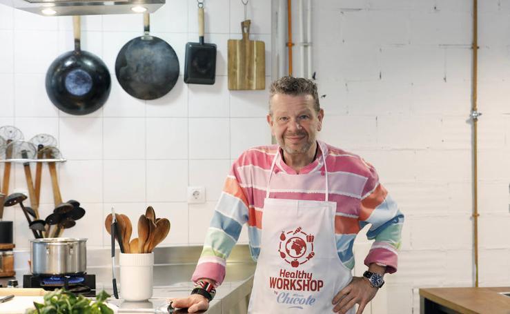 El cocinero Alberto Chicote imparte un taller en Valencia
