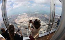 La sala de estar más alta del mundo está en Dubái