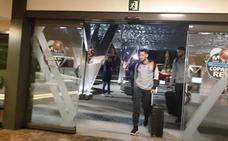 El Valencia Basket ya está en Madrid para luchar por la Copa