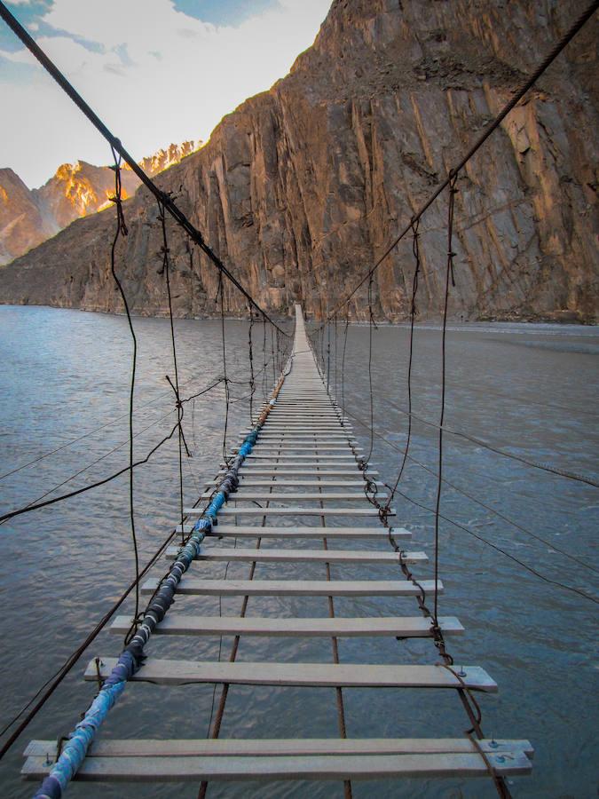 Los 15 puentes más aterradores del mundo