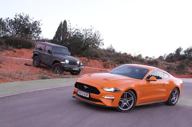 Ford Mustang y Jeep Wrangler: Magia americana