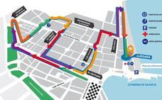 Recorrido de la 15K Valencia 2019 y dónde aparcar